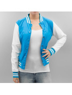 Urban Classics Blouson Teddy Ladies Light College Jacket turquoise