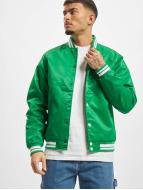 Urban Classics Blouson Teddy Shiny vert