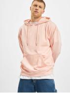 Urban Classics Bluzy z kapturem Oversized pink