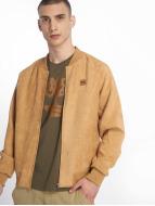Urban Classics Bomber jacket Imitation Suede beige