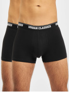 Urban Classics Boxers Mens Double Pack noir