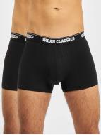 Urban Classics Boxershorts Mens Double Pack schwarz