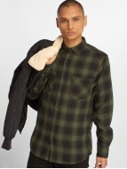 Urban Classics Camisa Checked Flanell 3 negro