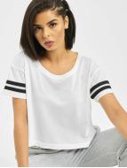 Urban Classics Camiseta Mesh Short blanco