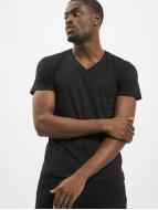 Urban Classics Camiseta Pocket negro