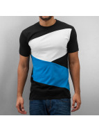 Urban Classics Camiseta Zig Zag negro