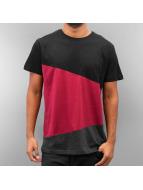 Urban Classics Camiseta Long Shaped Zig Zag negro