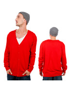 Urban Classics Cardigan Knitted rouge