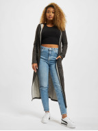 Urban Classics Cardigan Space Dye Hooded svart