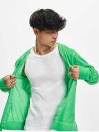 Urban Classics Cardigan Spray Dye Slub vert