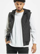 Urban Classics Chaleco Diamond Quilted negro