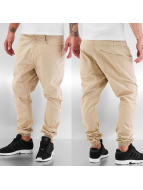 Urban Classics Chinot/Kangashousut Deep Crotch Twill beige