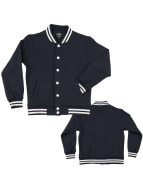Urban Classics College Jacke Kids blau