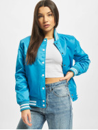 Urban Classics College Jacke Ladies Shiny türkis
