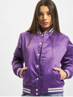 Urban Classics College Jacke Ladies Shiny violet