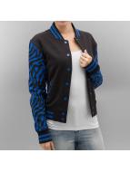 Urban Classics College Jacket Zebra 2-Tone black