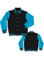 Urban Classics College Jacket Kids 2-Tone black