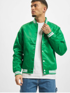 Urban Classics College Jacket Shiny green