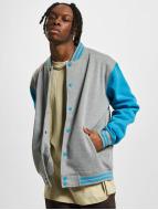 Urban Classics College Jacket 2-Tone grey