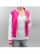 Urban Classics College Jacket Light pink