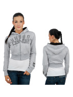 Urban Classics Dance Sweat à capuche zippé Urban Grey gris