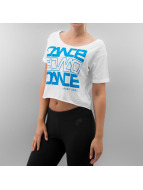 Urban Classics Dance T-Shirt Short blanc