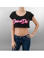 Urban Classics Dance T-Shirt Dance Neon Dance Or Die Short schwarz