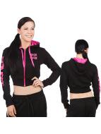 Urban Classics Dance Zip Hoodie Arm черный