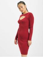 Urban Classics Dress Cut Out red