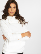 Urban Classics Felpa con cappuccio Quilt bianco