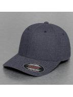 Urban Classics Flexfitted Cap Melange blauw
