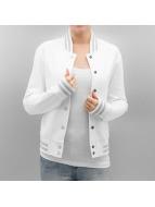 Urban Classics Giacca College Ladies Metallic bianco