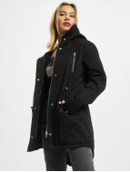 Urban Classics Giacca invernale Ladies Sherpa Lined Cotton nero