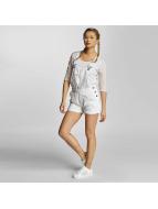 Urban Classics Haalarit ja jumpsuitit Ladies Short valkoinen