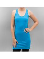 Urban Classics Hihattomat paidat Ladies Sleeveless turkoosi