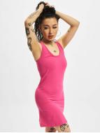 Urban Classics Hihattomat paidat Sleeveless vaaleanpunainen