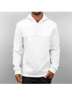 Urban Classics Hoodie Neopren Side Zip white