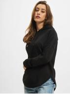 Urban Classics Hoodies Ladies Oversized Terry čern