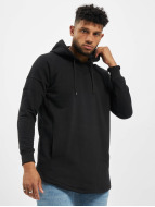 Urban Classics Hoody Long Shaped schwarz