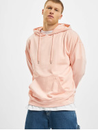 Urban Classics Hupparit Oversized vaaleanpunainen
