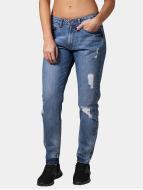 Urban Classics Jeans Boyfriend Grete blu