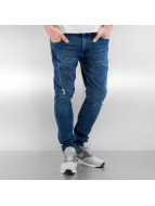 Urban Classics Jeans slim fit Ripped blu