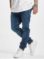 Urban Classics Jogging Knitted Denim bleu