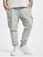 Urban Classics Jogging Fitted Cargo gris