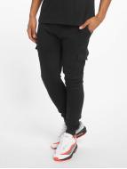 Urban Classics Jogging kalhoty Fitted Cargo čern