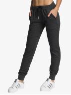 Urban Classics Jogging kalhoty Athletic Melange šedá