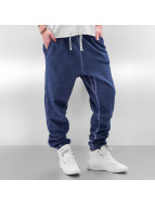 Urban Classics joggingbroek Ladies Spray Dye blauw