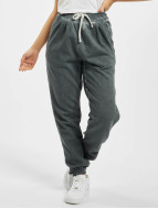 Urban Classics joggingbroek Ladies Spray Dye grijs