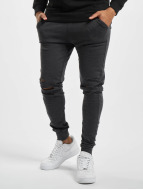 Urban Classics joggingbroek Cutted grijs