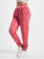 Urban Classics joggingbroek Ladies Spray Dye rose